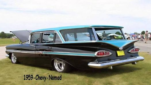 1959 Chevrolet Nomad Station Wagon 60 Pieces Jigsaw Puzzle
