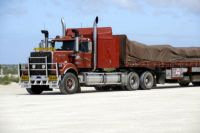 Truck at Nullarbor Roadhouse