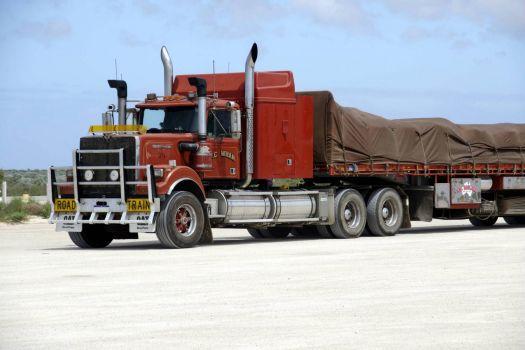 Truck at Nullarbor Roadhouse