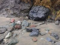 Where did all these different rocks come from?  Bandon, Oregon coast
