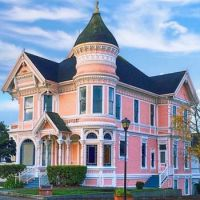 The Pink Lady Victorian House -- Eureka, California...