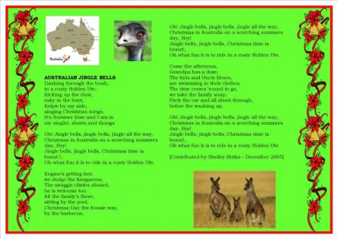 Australian Jingle Bells for pdevredis
