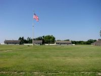 The Parade Ground At Fort Larned, Kansas