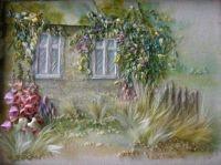 Obrázek z hedvábných stuh Angely Yuklyanchukové