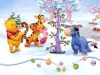 pooh's christmas tree