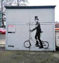 The Bicycle Graffiti Man