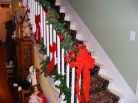 Christmas Bannister