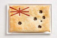 Austarlia flag pie