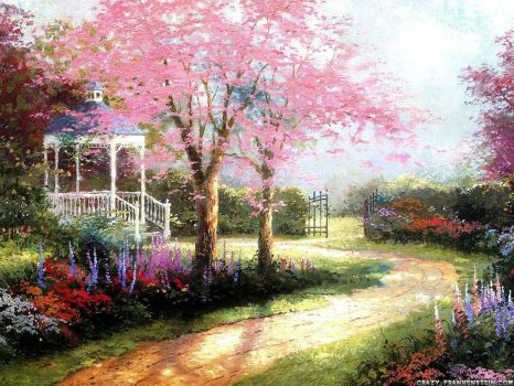 dogwood spring painting