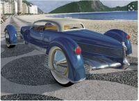1955 Tucker-Carioca rear view