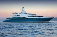 Megayacht Sunrays