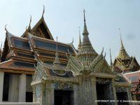 THAILAND – Bangkok - Grand Palace Complex - Phra Maha MonthienGroup