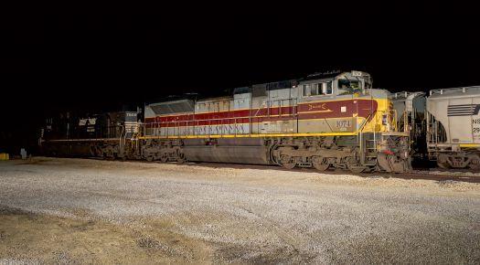 NS 1074 Lackawanna heritage unit