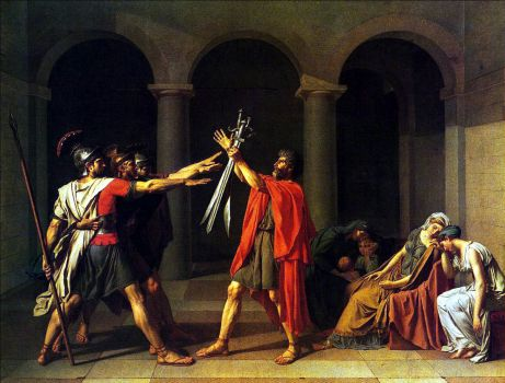 David - The Oath of the Horatii