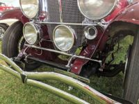 1930 Duesenberg Model J Berline Trippe driving lights turn with steering