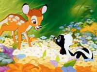 Bambi and friend
