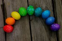 Easter Eggs Rainbow