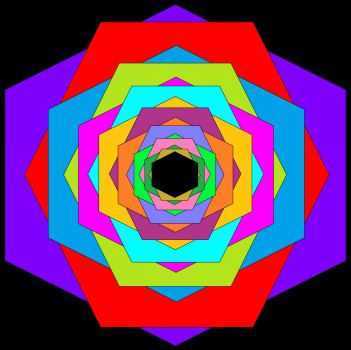 Overlapping Hexagons