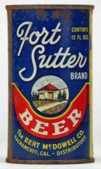 Fort Sutter Beer - Lilek #286