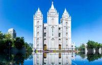 Salt Lake Temple, Salt Lake City, Utah, USA
