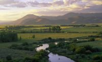 Silver Creek - one of the best blue ribbon trout streams in Idaho