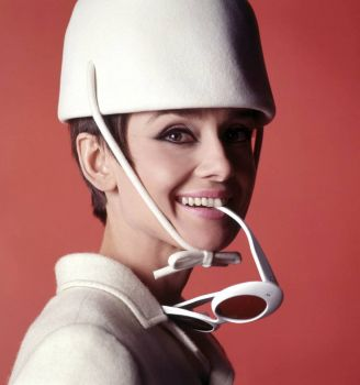 "Audrey Hepburn in ""How to Steal a Million"" (1966)."