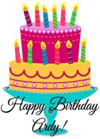 Happy Birthday, Ardy!