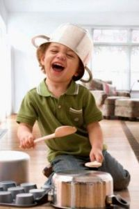 A little chef..