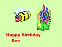 A Birthday Bee