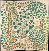 Branches and Vines Quilt, Ernestine Eberhardt Zaumseil