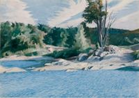 White River at Sharon Edward Hopper 1937