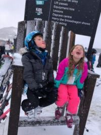 Catching Snowflakes . . . remember that?