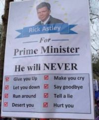 The Rickroll Party
