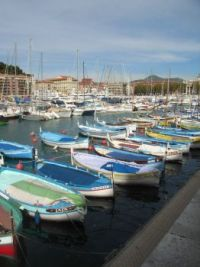 Nice marina