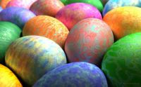 Easter Eggs 2 by Digital Blasphemy