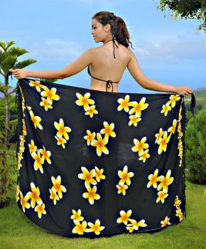 Plumaria Sarong - 1 World Sarongs