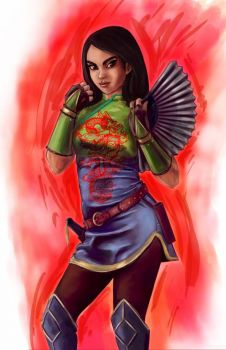 Warrior Mulan