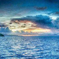 Sea, sky, and land