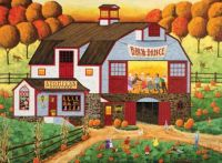 Barn Dance by Art Poulin
