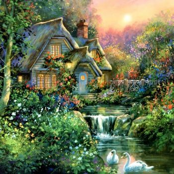 Cottage Charm - Jim Mitchell