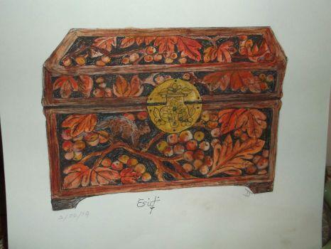 Pretty wooden box drawingDSCF2625