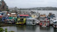 Victoria, BC houseboats