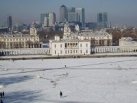 Winter Coat, central London from Greenwich