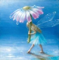 fairy flower umbrella  Lynne Bellchamber