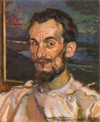 Józef Mehoffer (Polish, 1869–1946), Portrait of Jan Hopliński (1919)