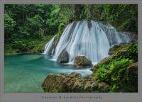 Reich Falls, Portland Jamaica also pronounced Reach Falls
