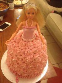 A Barbie cake