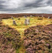 The Twelve Apostles - standing stones on Ilkley Moor (Rombald's Moor)