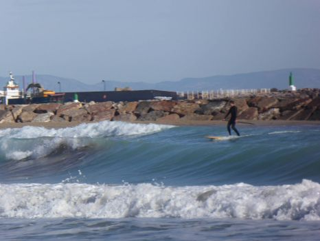 Spain. Surfing, surfing, wave surfing........