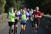 2h 10m pacers at the 2019 Greenway Half-Marathon